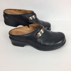 Ariat Mules Clogs Black and Brown Size 8.5